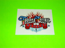 KXF RMZ YZF CRF 250 450 TROY LEE DESIGNS MOTOCROSS FLAMING DICE STICKER DECAL