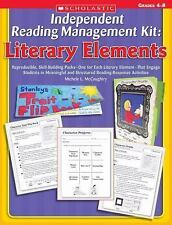 Independent Reading Management Kit: Literary Elements: Reproducible, Skill-Build