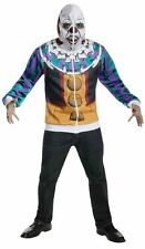 XL IT Pennywise Dancing Clown Hoodie,Adult Mask,