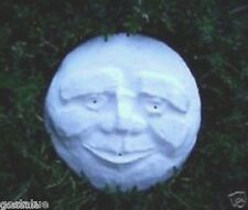 "Gostatue mould Plaster cement old man face plastic mold 5"" x 1/2"" thick"