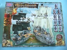 Pirates of the Caribbean Siege of Flying Dutchman Black Pearl Mega Bloks MIB '06