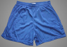Blue Nylon Mini Mesh Shorts by Soffe - Men's Medium *NEW*
