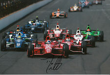 Dario Franchitti Hand Signed 12x8 Photo Indianapolis 500 Winner 6.