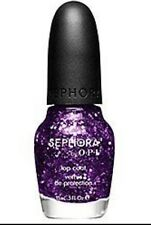 New~OPI SEPHORA Nail Polish #SE H29 Sugar Plum Fairies Gone Wild Purple Glitter