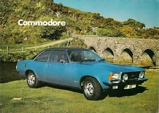 Opel Commodore 1973-74 UK Market Sales Brochure 2.5 Saloon Coupe 2.8 GS