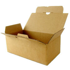 20x Folding carton with Automatic floor 7 1/10x3 9/10x2 4/5in Quick Box brown