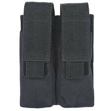 Voodoo Tactical Double Pistol Magazine Pouch with Adjustable Straps MOLLE Black