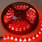Waterproof 5m Car 300 SMD LED 3528 Flexible Strip lights Auto Lamps Bulb 12V Red