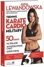2 x ANNA LEWANDOWSKA Trening Karate Cardio Military 2disc DVD POLISH POLSKI