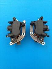 pair front brake nissin calipers for honda cb600f including pads not abs