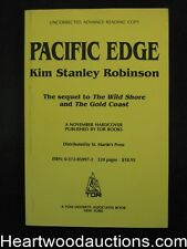 Pacific Edge by Kim Stanley Robinson Uncorrected Proof(SOFTCOVER)