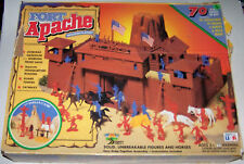 Vintage Fort Apache Western Playset by TOY STREET in Original Box