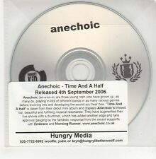 (GO739) Anechoic, Time And A Half - 2006 DJ CD
