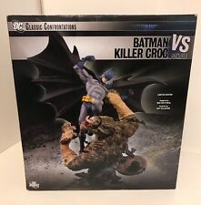 Limited Edition Batman VS Killer Croc #511/1500 DC Direct Statue Diorama