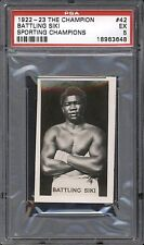 1922-23 The Champion BATTLING SIKI #42 PSA EX 5 Sporting Champions