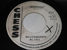 Billy Emerson: Woodchuck / Give Me A Little Love 45
