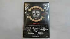 METAL BLADE RECORDS 20TH ANNIVERSARY PARTY DVD CANNIBAL CORPSE, ARMORED SAINT