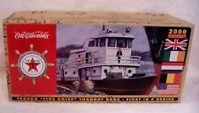 "2000 TEXACO ""FIRE CHIEF"" TUGBOAT BANK DIECAST FIRST IN SERIES EUROPEAN EDITION"