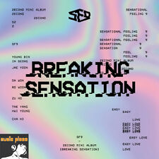 SF9 2ND MINI ALBUM [ Breaking Sensation ] CD+BOOKLET+PHOTO CARD