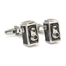 Brownie Camera Cufflinks in Gift Box retro kodak vintage style AJ343 BNIB