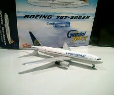Gemini Jets GJCOA574 Continental Airlines Boeing 767-200ER 1/400 N67158 model