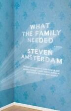 What the Family Needed: A Novel - New - Amsterdam, Steven - Paperback