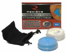 Radians Custom Molded Earplugs, Blue