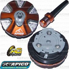 Apico Orange Alloy Fuel Cap Vent Pipe For Husaberg FE 350 2009 Motocross Enduro
