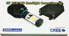 25W LED CREE Canbus Car Headlight Headlamp H7 Kit replace halogen xenon lights