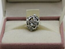 AUTHENTIC PANDORA CHARM Luminous Leaves, White Pearl & Clear CZ, 791754P #390
