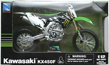 NewRay - Kawasaki KX450F 2012 Monster Energy 1:12 Neu/OVP Moto Cross