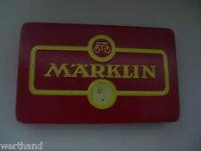 Blechschachtel von Märklin Schachtel  Dose Märklin Blechdose mit Inhalt #77