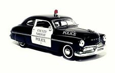 COUNTY PARKWAY POLICE #23 - 1949 MERCURY COUPE - 1:32  SCALE