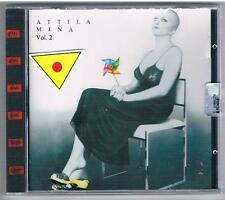MINA ATTILA VOL. 2 CD F.C. MADE IN ITALY SIGILLATO!!!