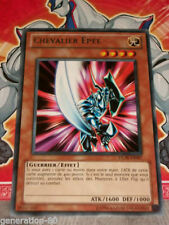 Carte YU GI OH CHEVALIER EPEE DL09-FR007 TITRE OR
