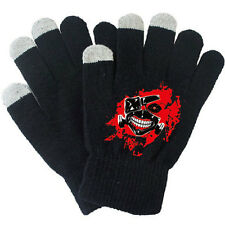 Anime Tokyo Ghoul Kaneki Ken Knitted Cotton Gloves Screen Touch Cosplay Costume