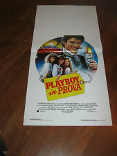 LOCANDINA,Playboy in prova,Can't Buy Me Love,1987,Dempsey,Rash,FERRARI AUTO CAR