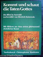 KOMMT UND SCHAUT DIE TATEN GOTTES ~ BIBEL AUSWAHL ~ ILLUSTRIERT ~ STEINWEDE ~ HC