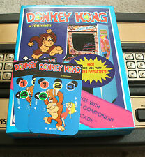 NEW DONKEY KONG ORPHAN OVERLAYS FOR INTELLIVISION GAME FLASHBACK
