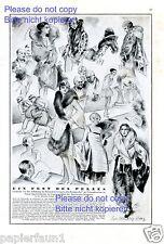Pelzmoden Modenschau Leipzig Kunstdruck von 1929 Oldenburg Wittig Laufsteg Mode