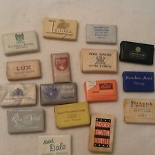 Vintage Hotel Motel Travel Soaps Lot Of 16 Ephemera Collectible Mid Century