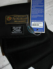 """* LORO PIANA®  UNISEX 100% Cashmere Scarf 34"""" X6"""" $195 Great Gift Black or Brown"""