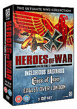 The Heroes Of War Collection - Vol.3 (DVD, 2010, 3-Disc Set)
