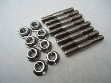 Kawasaki Z900  Stainless Steel Exhaust stud Set 8mm   Z1000 gpz1100