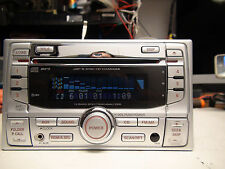 Honda Civic 2005 6-disc CD MP3 player AUX 1XC6 1XCY w/Code 2DIN Metallic TESTED