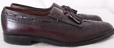 Allen Edmonds 40835 Arlington Kiltie Tassel Wing Tip Dress Loafers Men's US 10B
