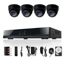 8CH 960H HDMI H.264 DVR 600TVL 4 Indoor CCTV Security Camera System 500GB TECBOX