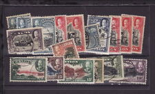 CEYLON 1935 KGV Lot of 18 STAMPS to 50c - USED (L020)