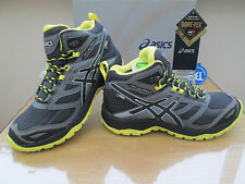 ASICS GEL-FUJI TERRA MTG G-TX BLACK GORE-TEX WALKING BOOT TRAIL SIZE UK 12 EU 48