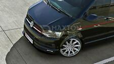 FRONT SPLITTER (GLOSS BLACK) - VOLKSWAGEN  T6 ver.1 (2015-UP)